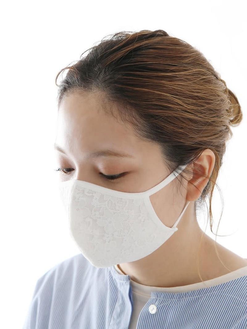 Verfrissend zomermasker van kant