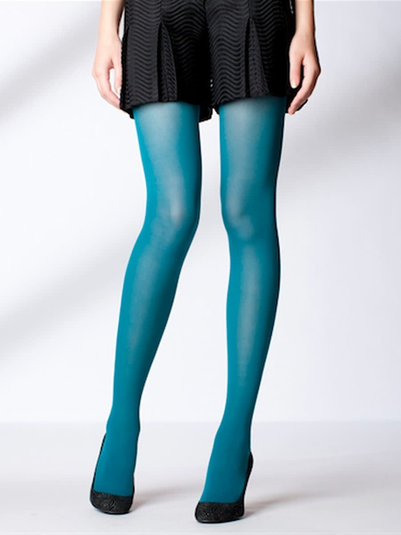Fine ribbed tights 60D M