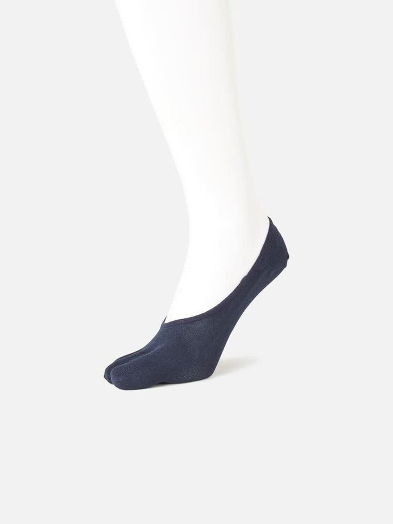 Footsie 5 orteils Lyocell L