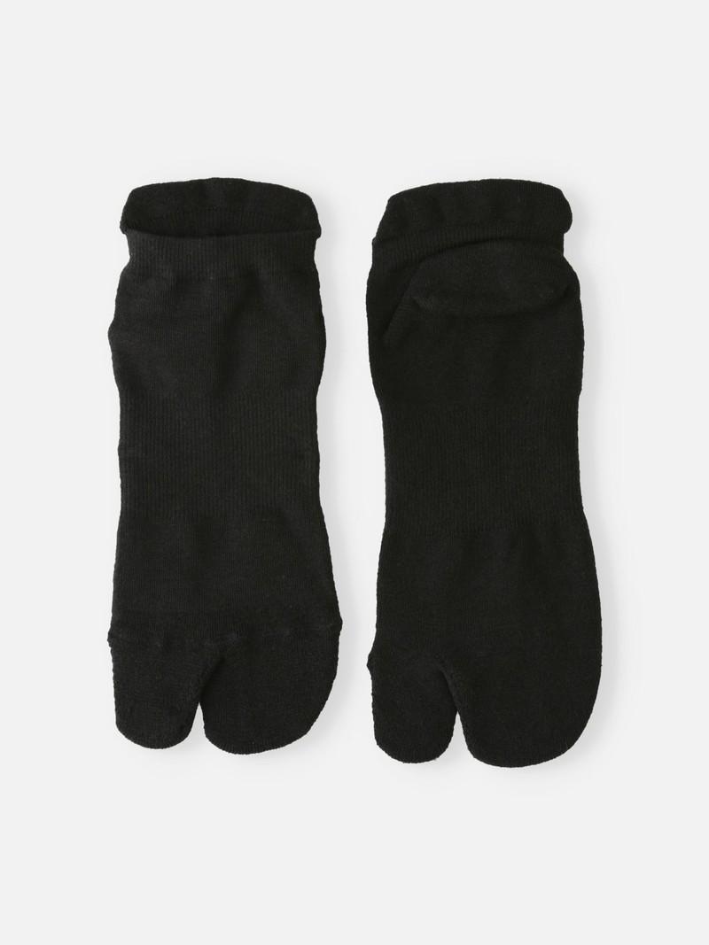 Chaussette courte Tabi éponge en fil durable Triporous™