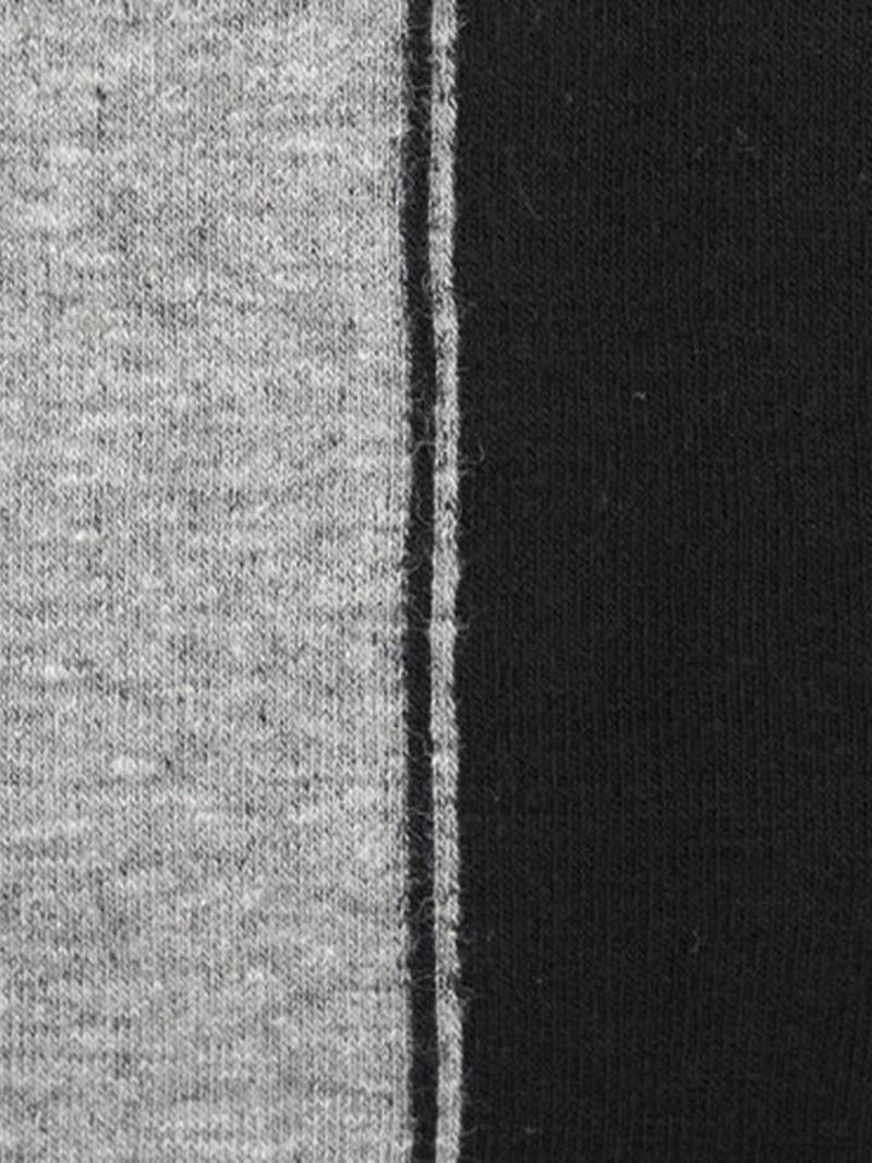 Collant coton bicolore