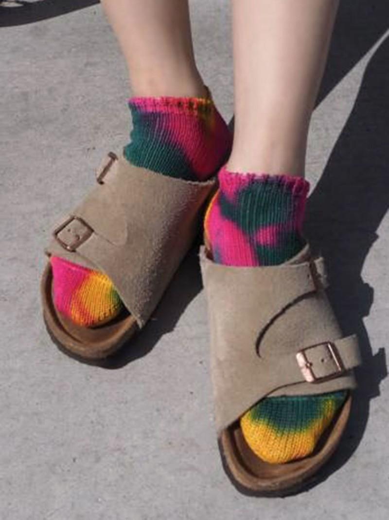 Tie-Dye Trainer Socks