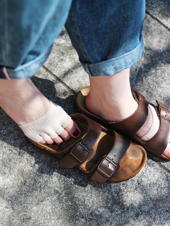 Photo des chaussettes d'été pour éviter les ampoules