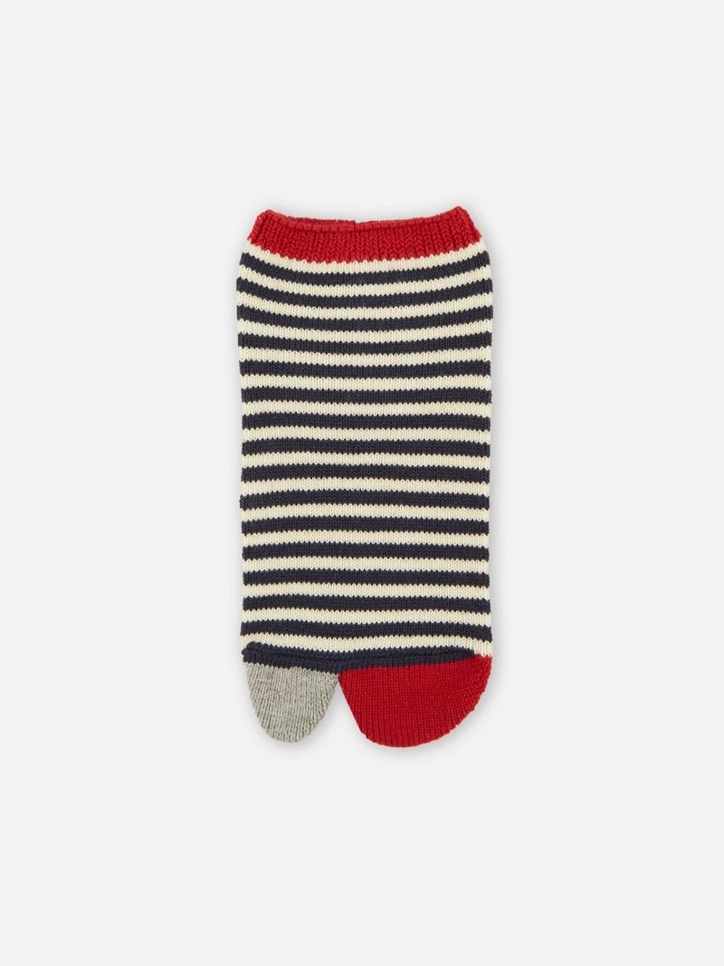 Tabi Striped Trainer Socks S