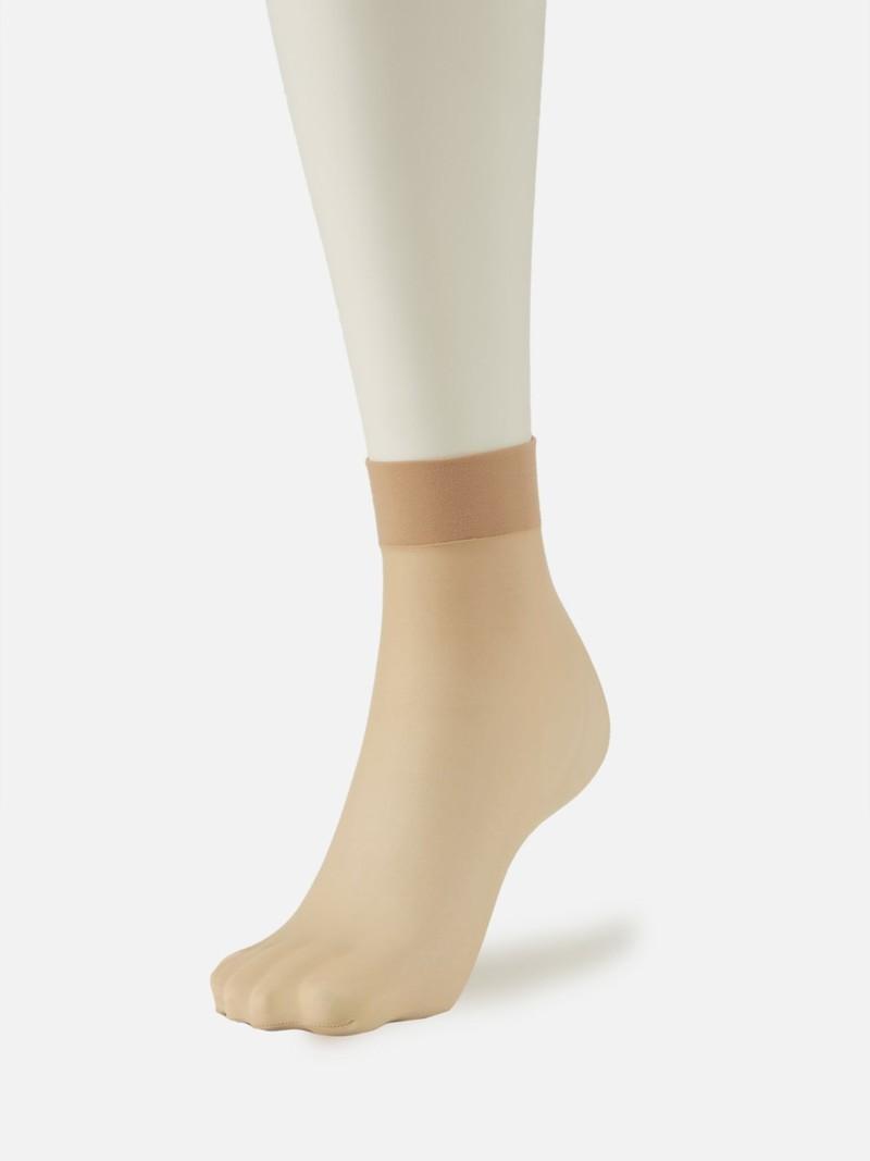 Natural Touch Basic Pop Short Socks 20D