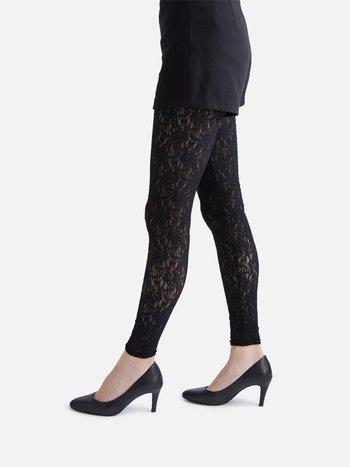 041850059 Legging long dentelle stretchy pivoine M
