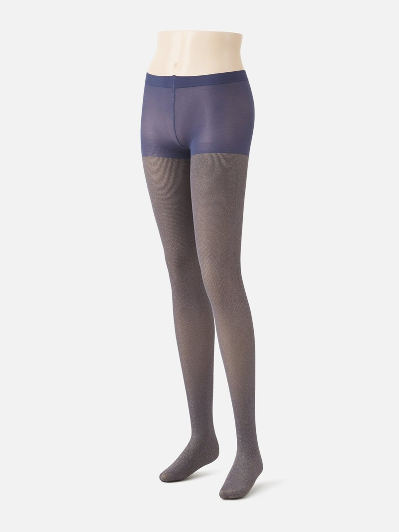 Lame Iridescence 60D Tights M