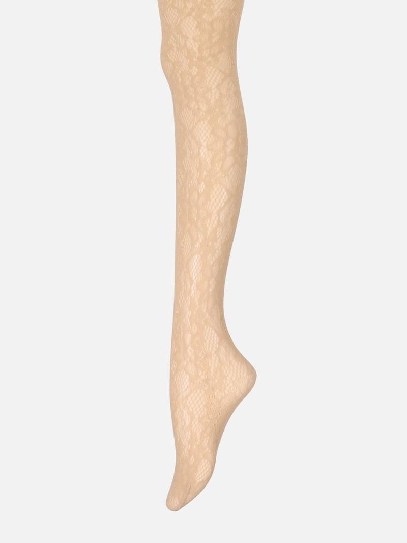 Raschelblumenstrumpfhose M