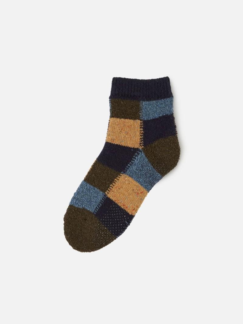 Kids Patchwork Room Socks Enf.19-21cm