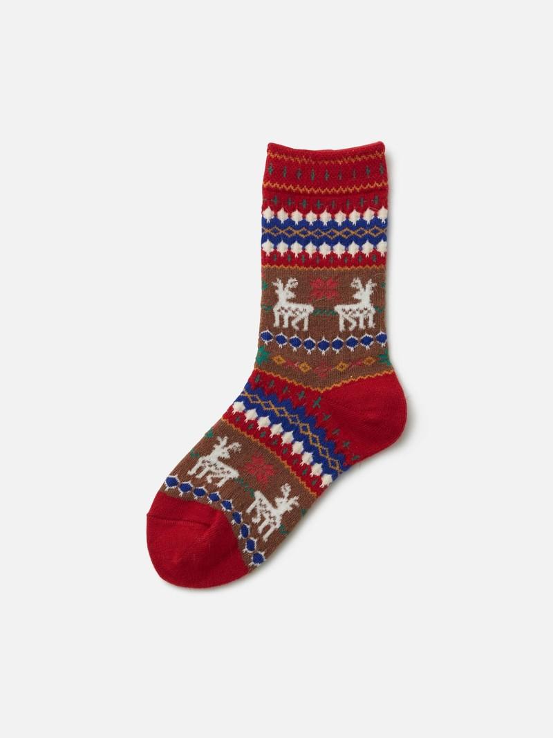 Kids Reindeer Socks MM