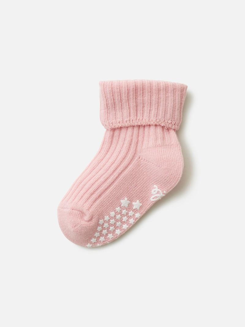 Gerippte Socke mit Klappkante Kinder 9-12