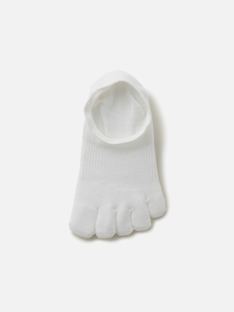 Footsie 5 orteils uni invisible