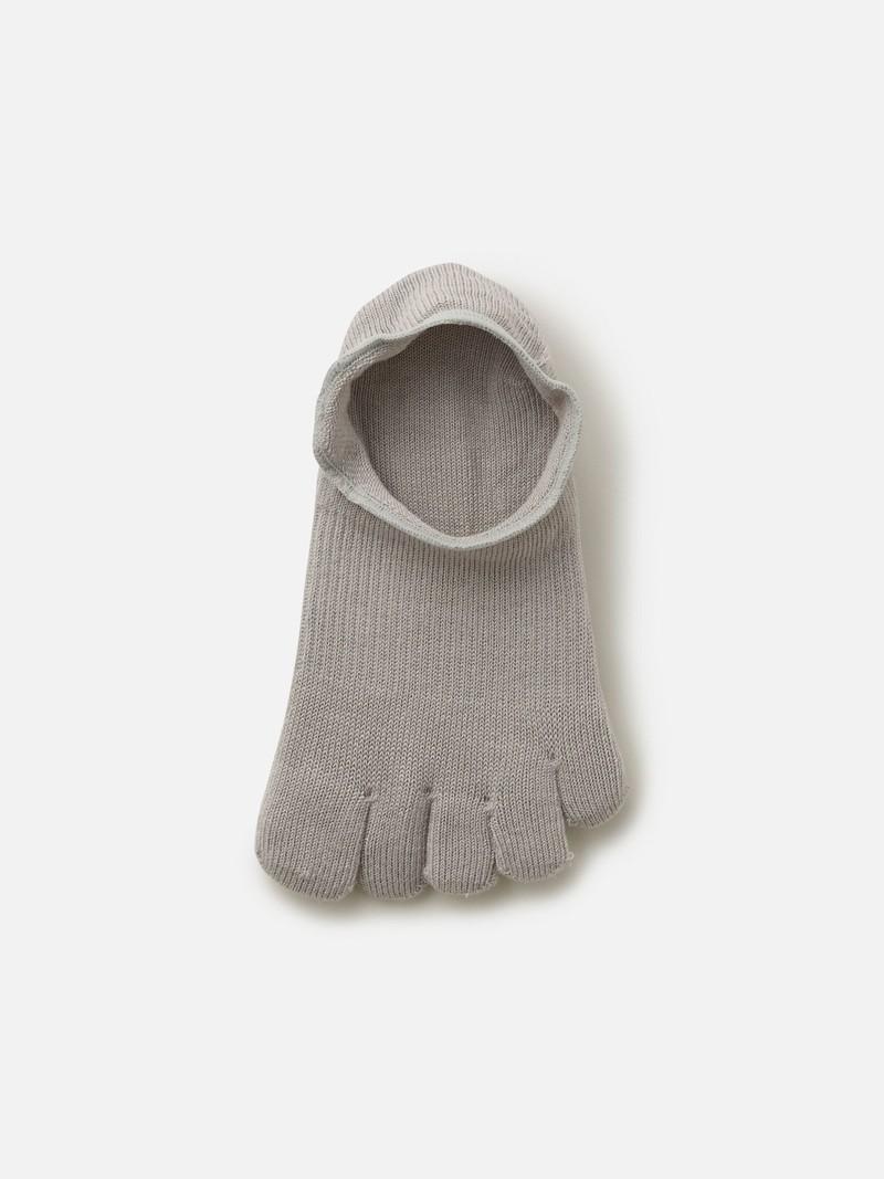 Invisible 5 Fingers Plain Toe Sockettes