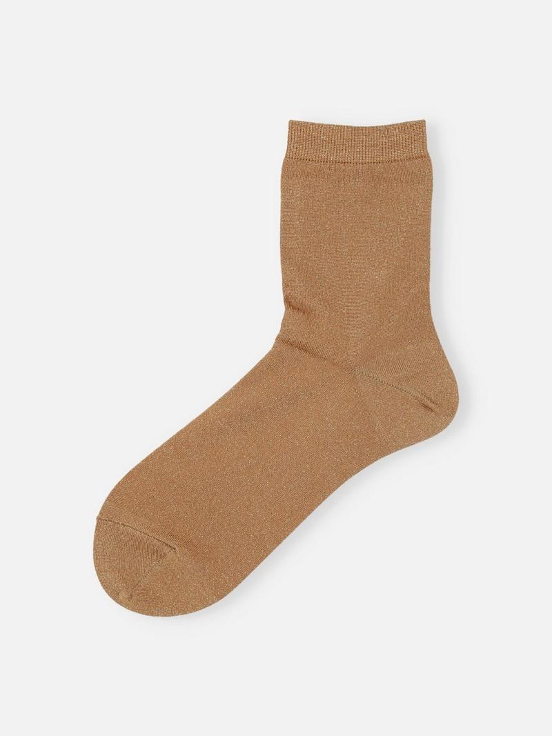 Extra weiche Lamé-Socke 200N
