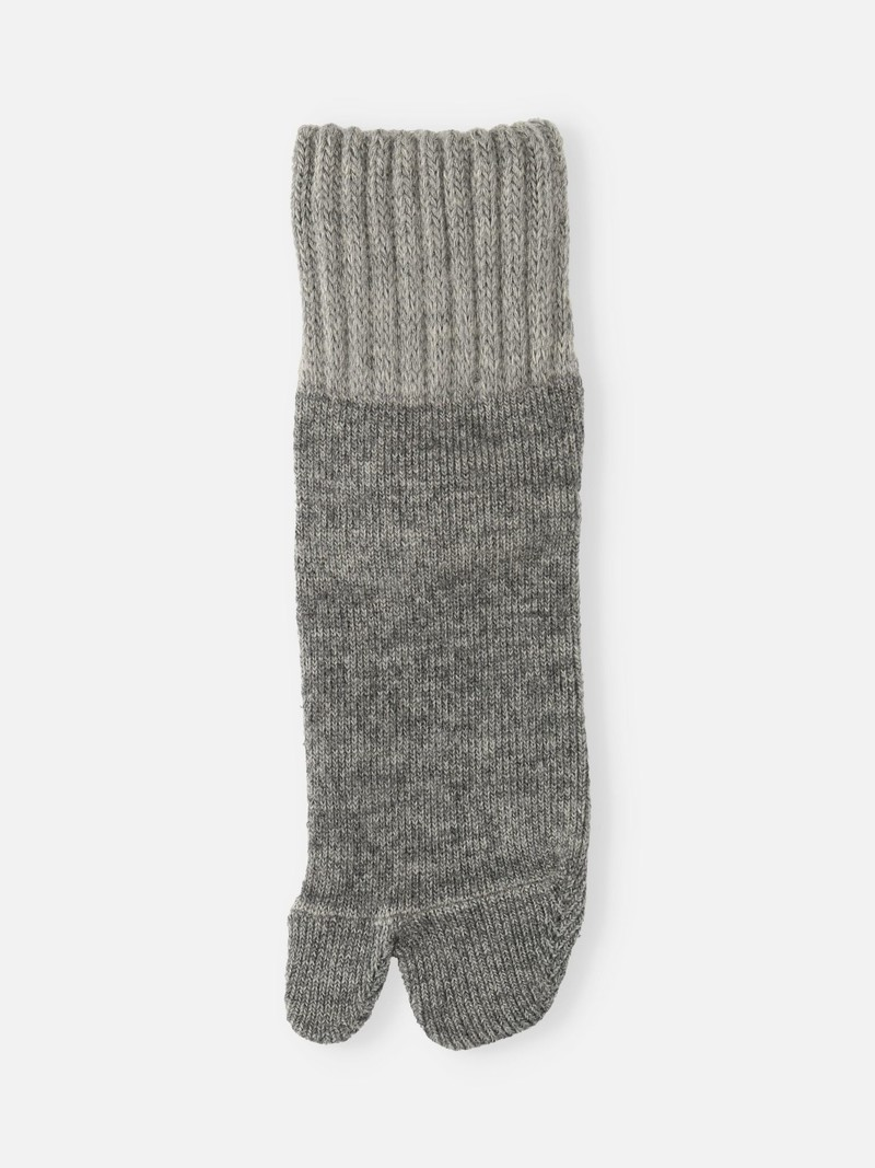 Plain Pile Room Tabi Socks