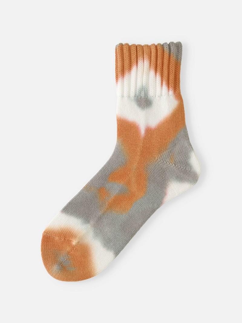 Amerikaanse rib tie-dye sok