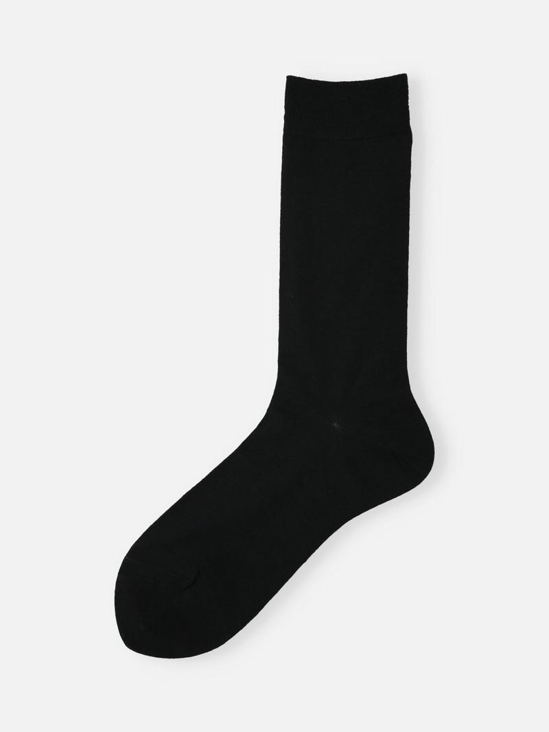 Mi-chaussette laine Mérinos fine Premium unie