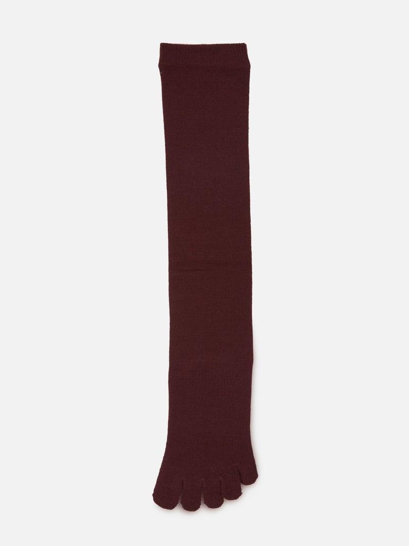 Merino Wool Plain Toe Socks