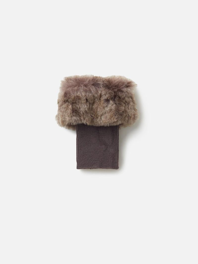 Faux Fur Short Boots Cover