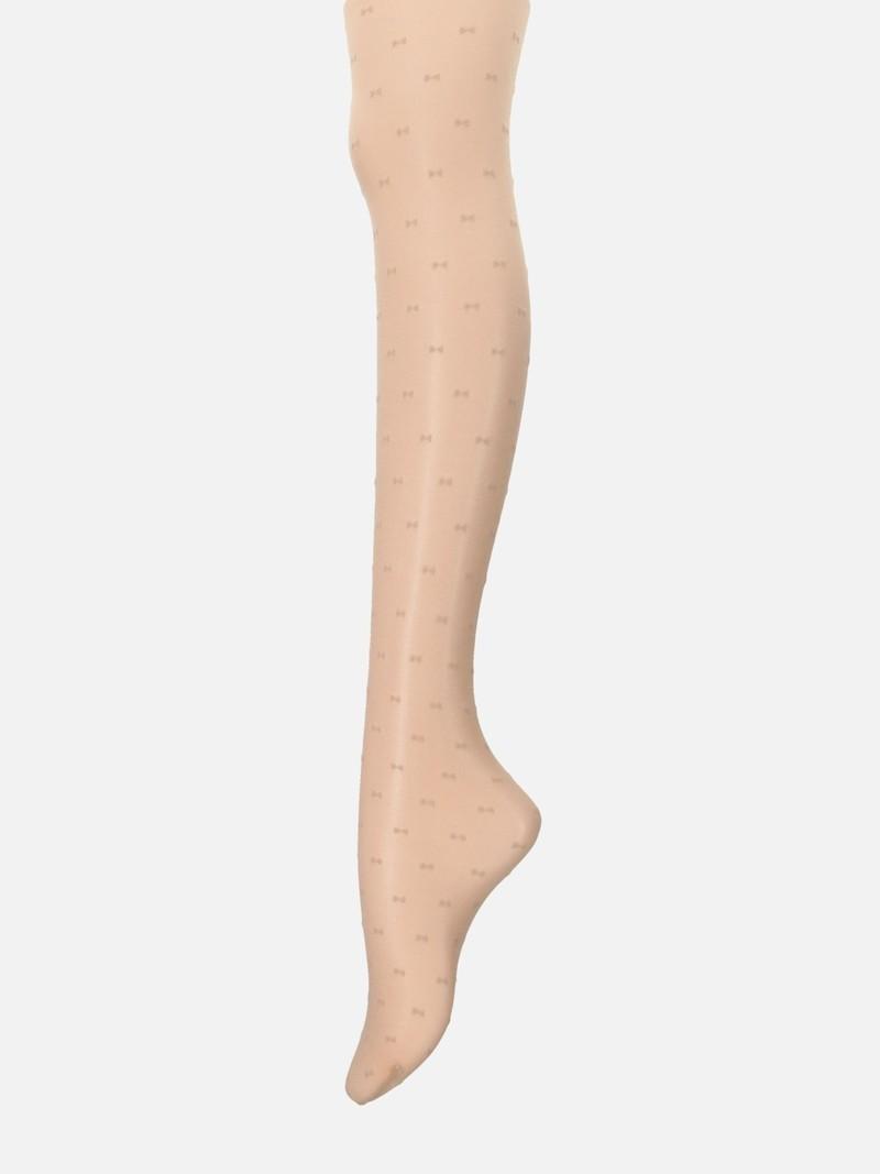 Dunne panty met linten 25D M