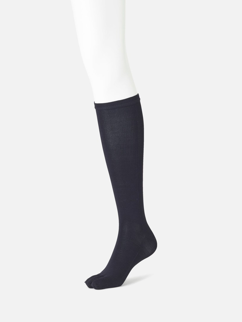 Hohe Socke 5 Zehen Kompressionsbaumwolle M