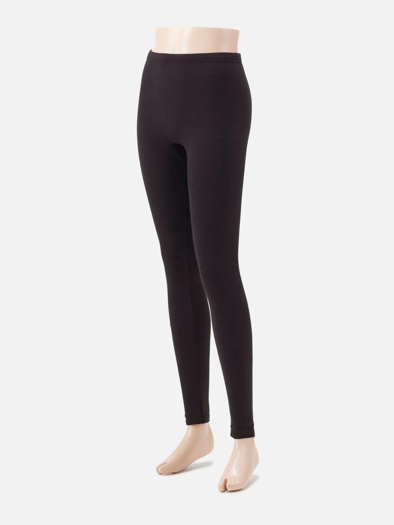 Legging uni microfibre douce