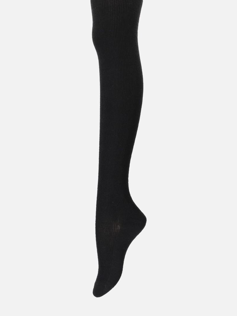 Angora Mixed Ribbed Tights