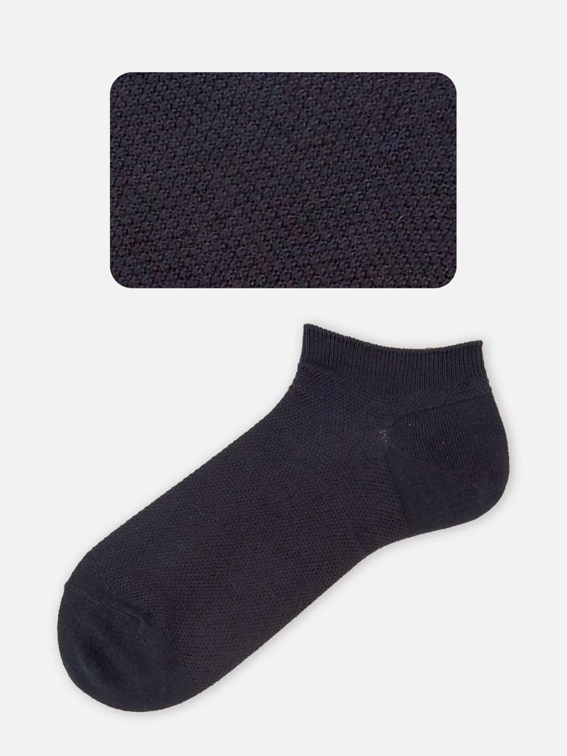 Kurze Socke aus Leinen / Baumwolle M