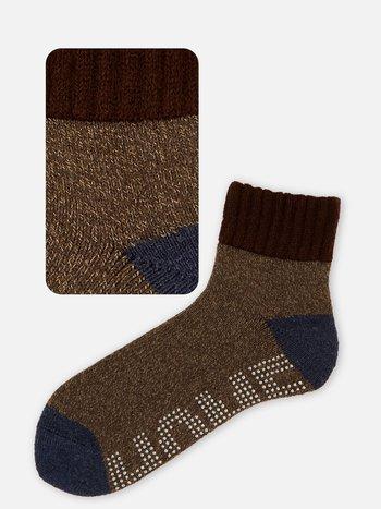 042130081 Room Socks anti-dérapant bicolore M