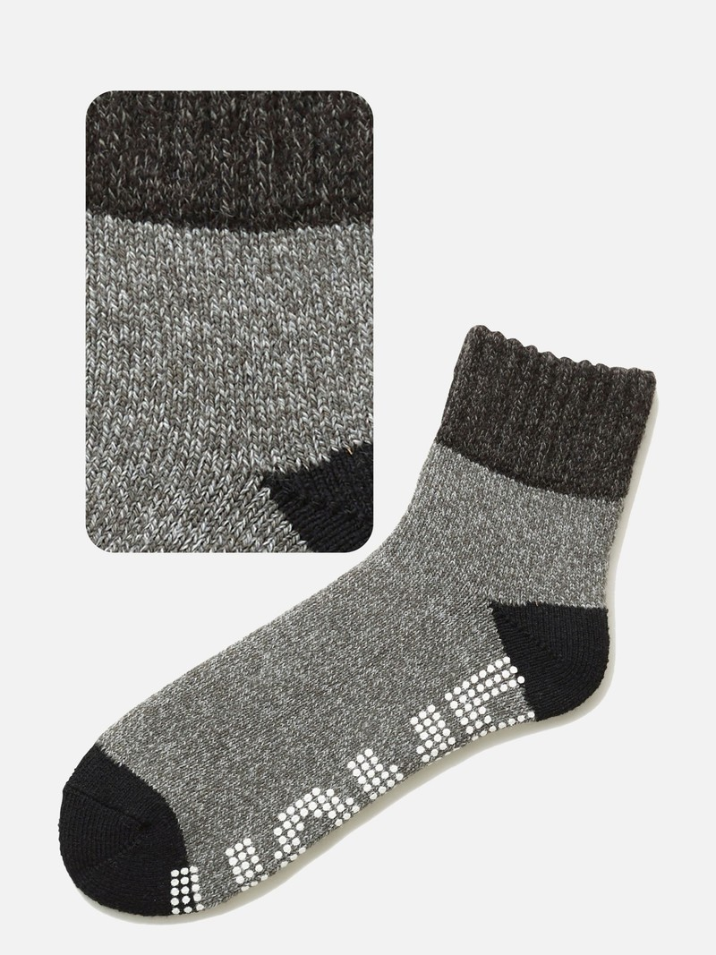Tweekleurige antislip Room Socks M