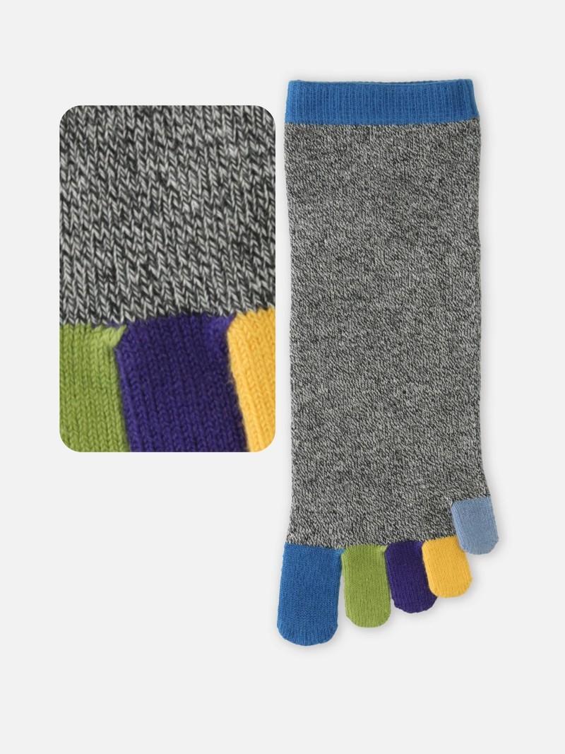 Regenbogen 5 Zehen kurze Socke M