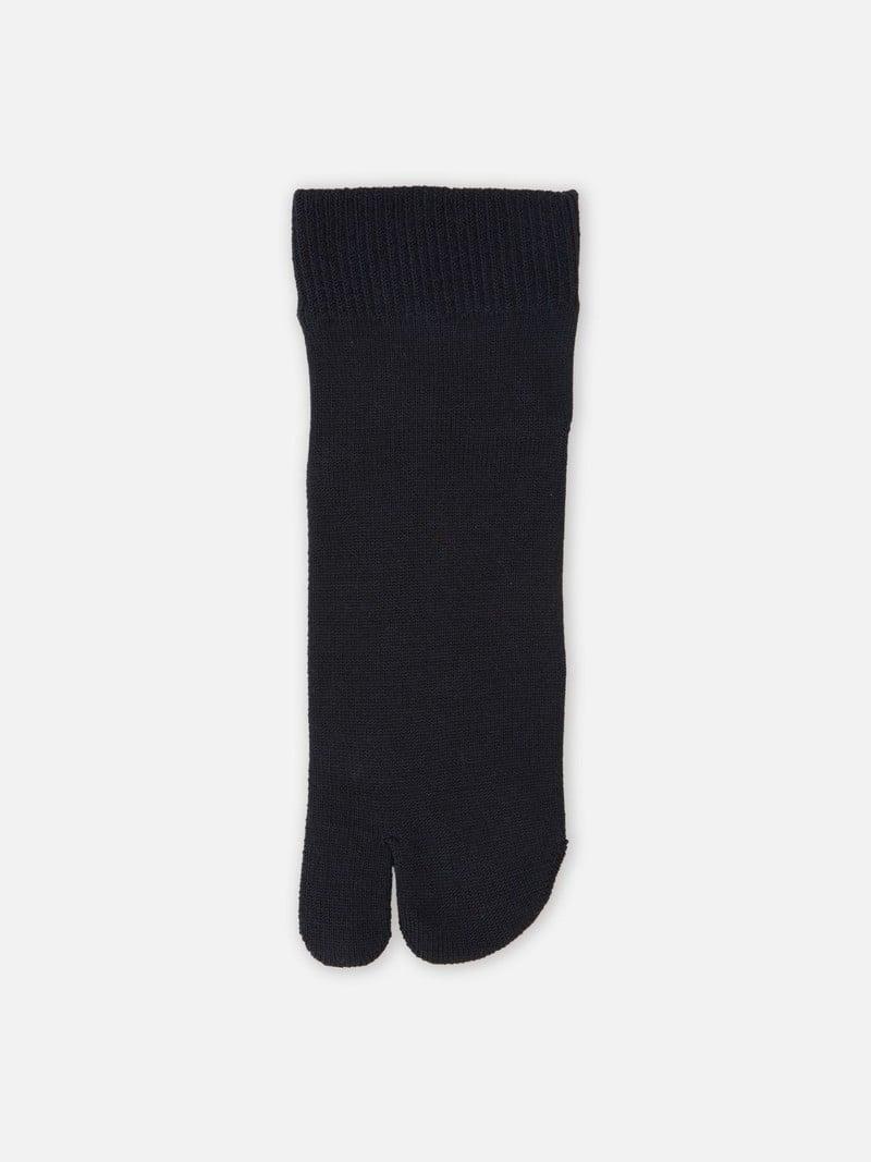 Einfache Tabi-Socke in Lyocell Soft Edge M
