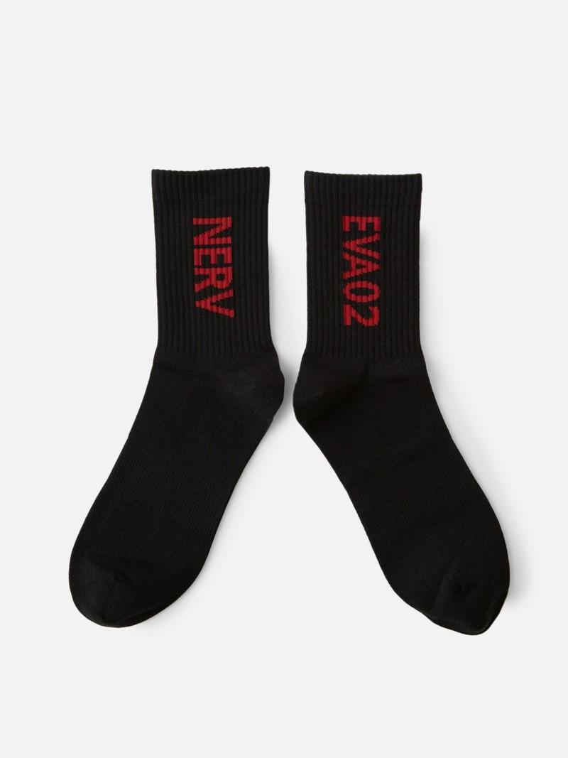Socken Evangelion Nerv Logo M