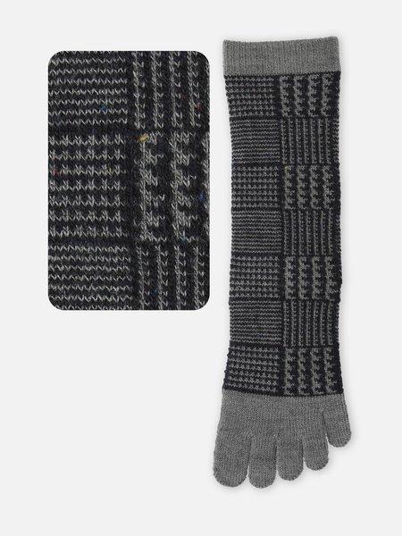 042140502 MC 5 orteils en laine Prince-de-galles M
