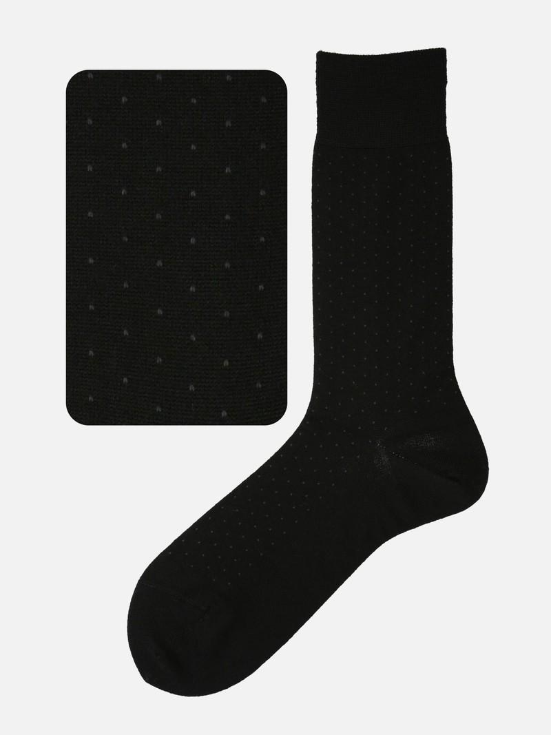 Merino Wool Pindot Socks M