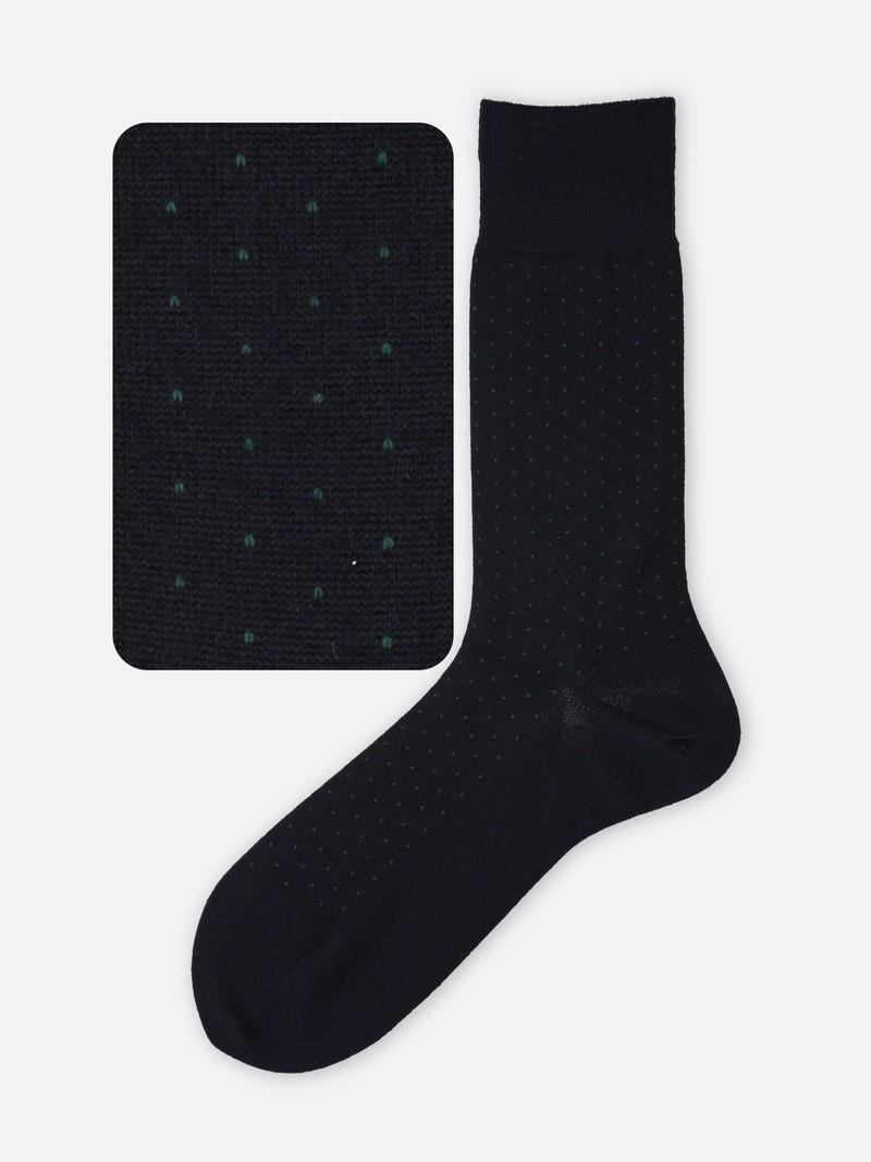Merino Wool Pindot Socks L