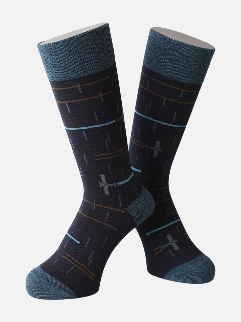 Mi-chaussette défilé aérien L