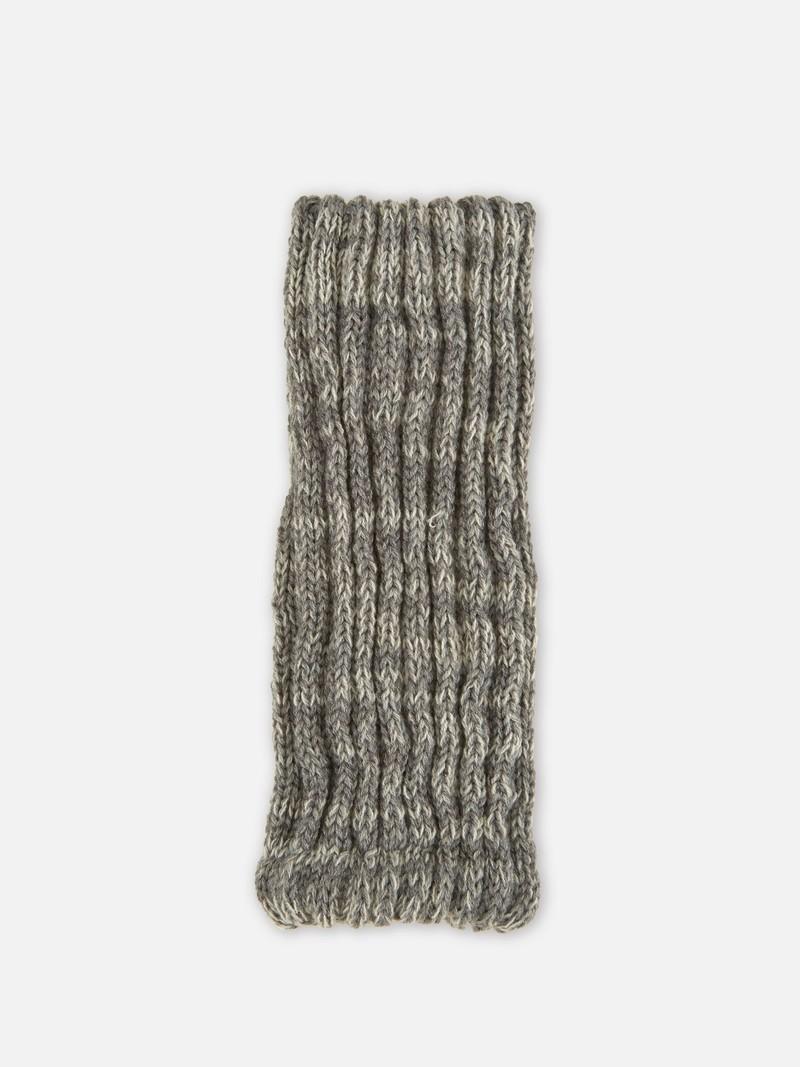 Beinwärmer aus Seide und Merinowolle