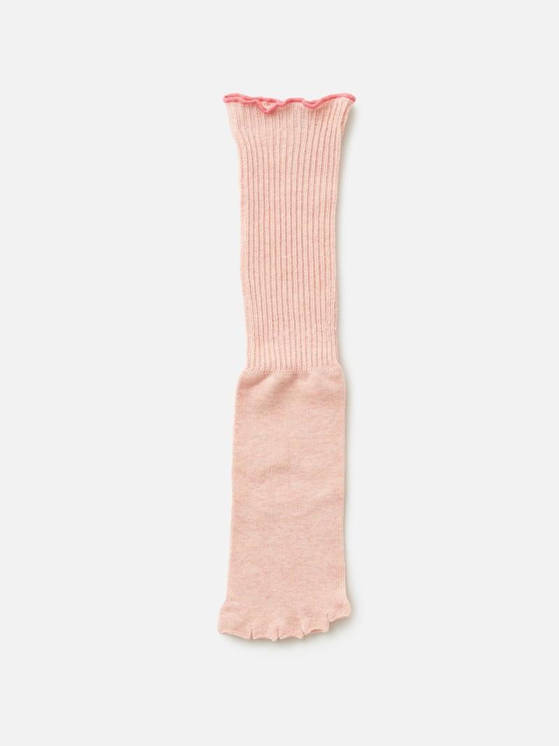 Mi-chaussette Yoga Loose orteils séparés coton Bio