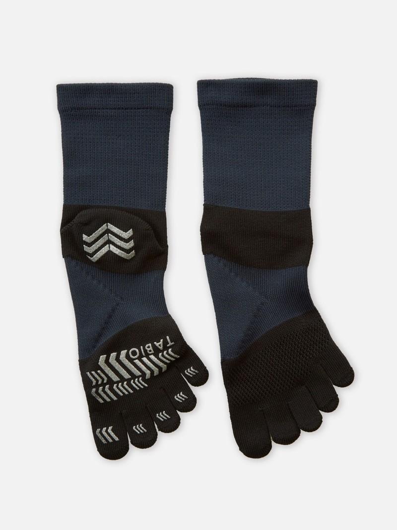 Racing Run Toe Short Socks L
