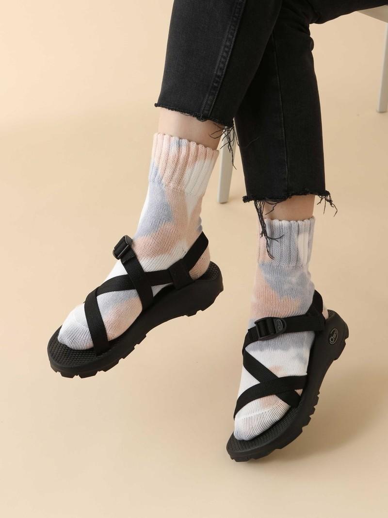 American Rib Tie-Dye Socke