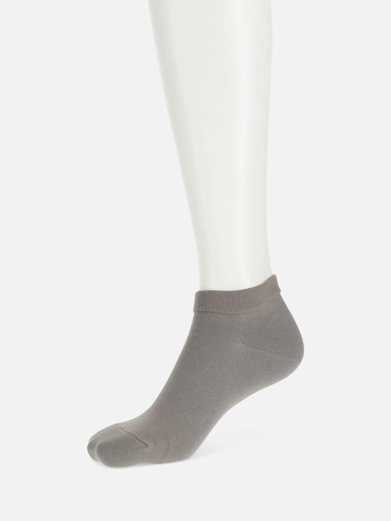 Chaussette courte unie sans elastique