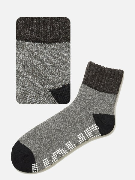 042130155 Room Socks anti-dérapant bicolore L