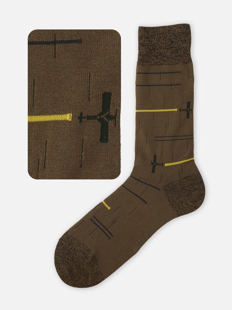 Aerial Parade Mid-Calf Socks L