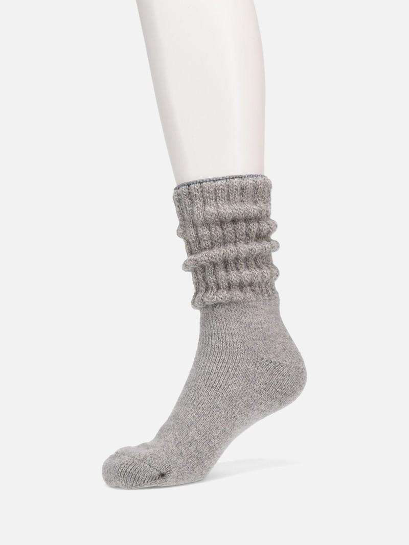Seide/Angora American Ribbed Room Socken
