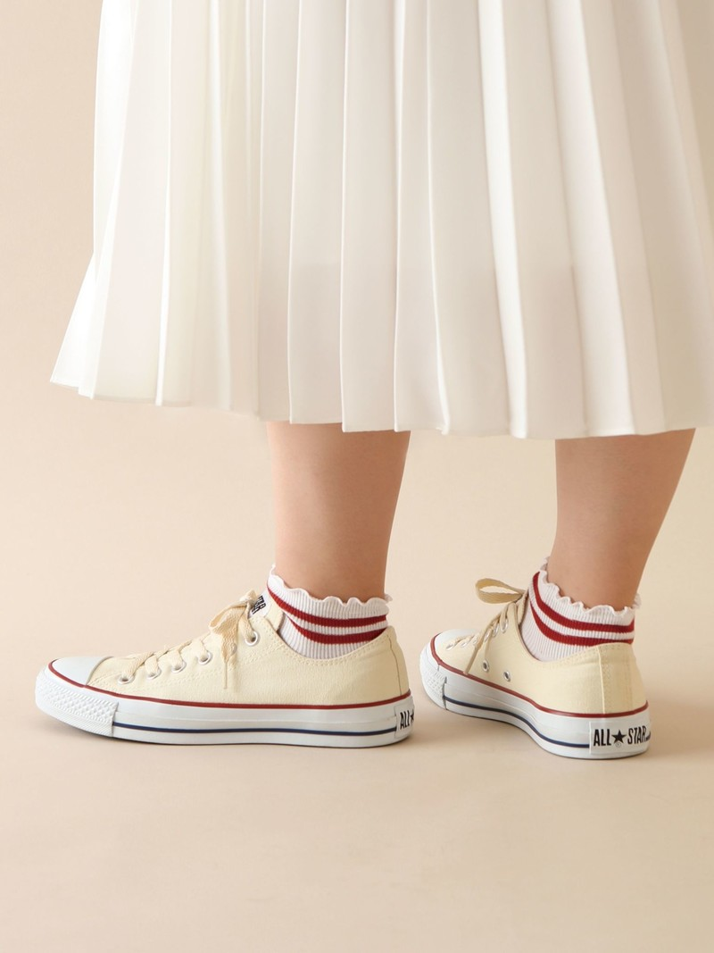 Top Mellow Line Short Ankle Socks
