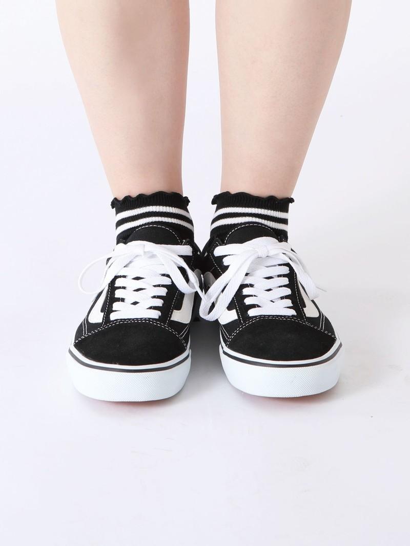 2-Streifen-Socke mit weicher Kante
