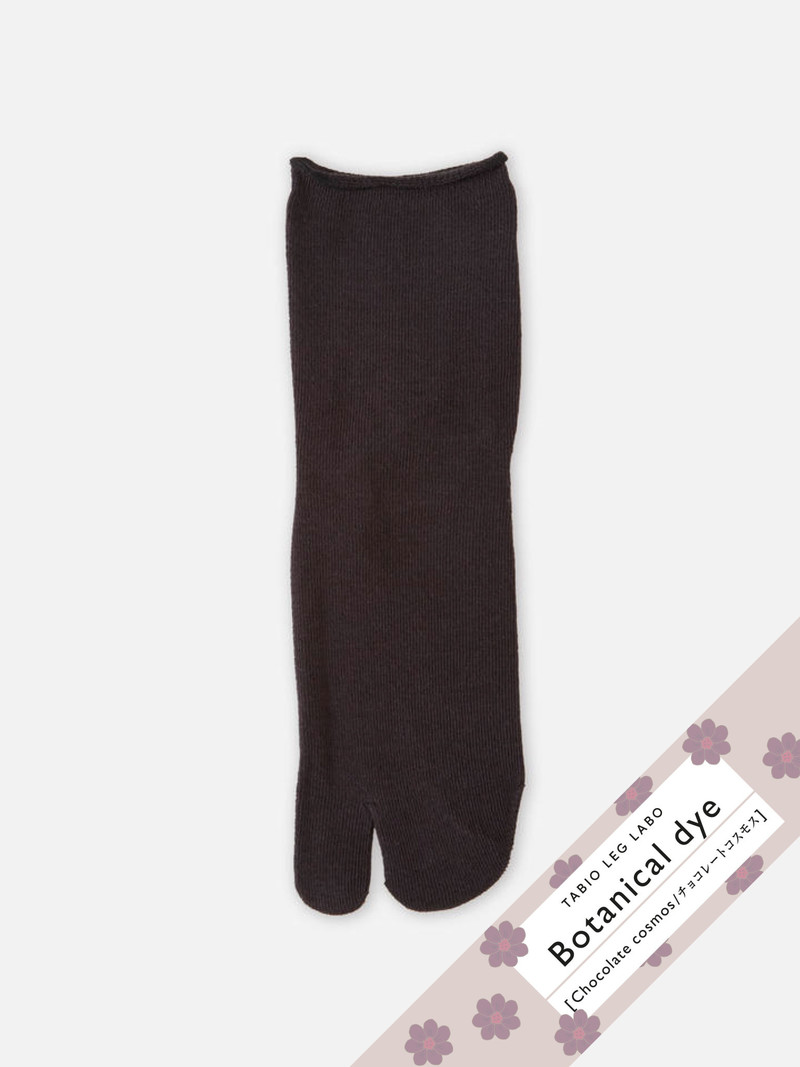 Botanical Dye Koryo Cotton Low Crew Tabi Socks