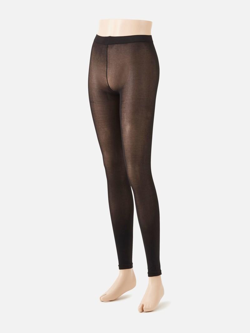 Legging coton mélangé