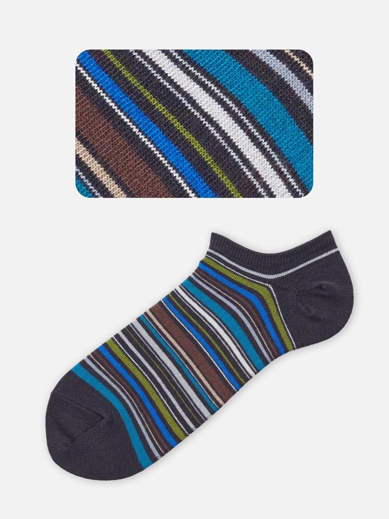 Korte sok met meerdere strepen M